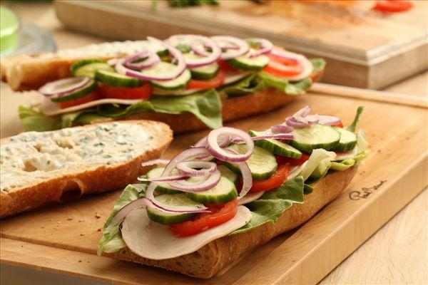 Sandwich med kylling