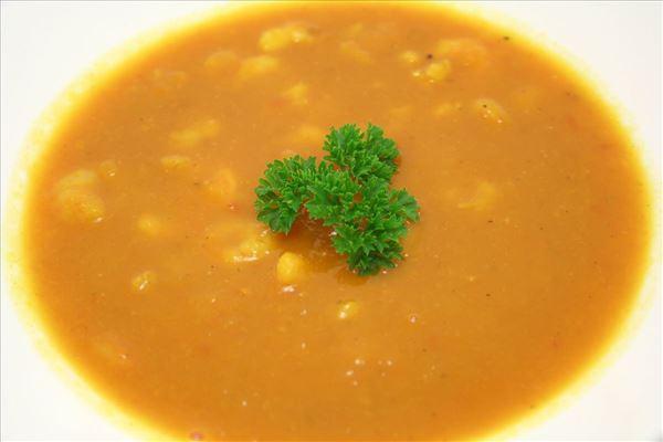 Hokkaidosuppe med rejer