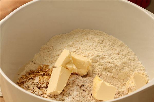 Havregrynskager med kokos