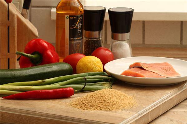 Laks med couscous