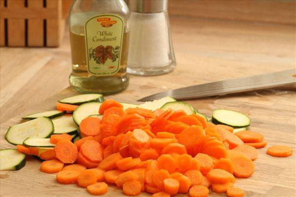 Medisterpølse med ovnstegte kartofler