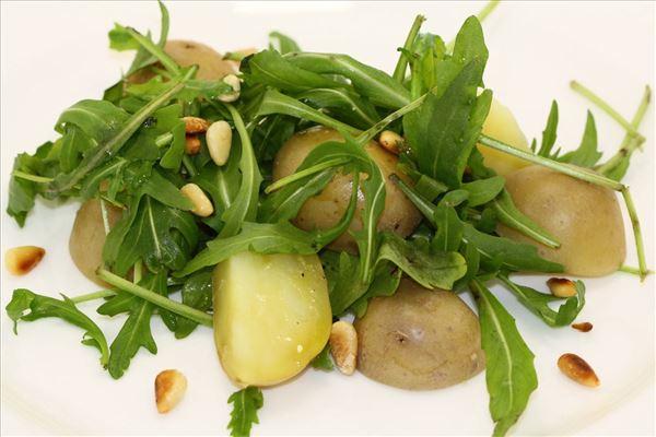 Kartoffelsalat med citronmarinade