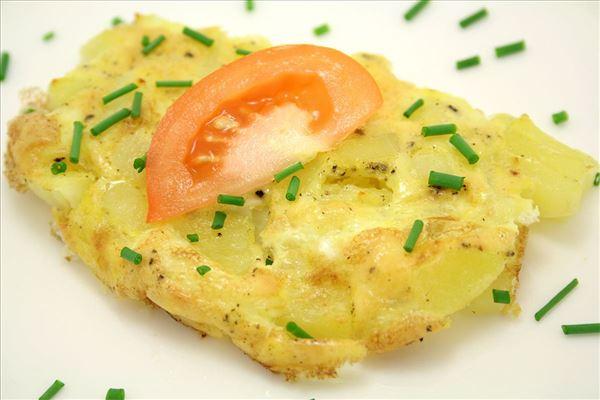 Kartoffelæggekage