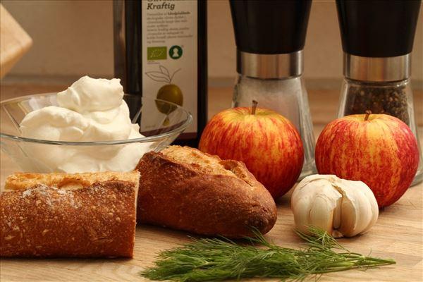 Æble tzatziki