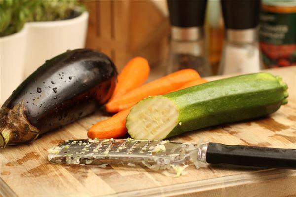 Fedtfattig grønsagslasagne