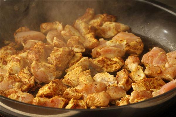 Wok med kylling og karry
