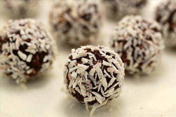 Sukkerfri havregryns-/kokoskugler