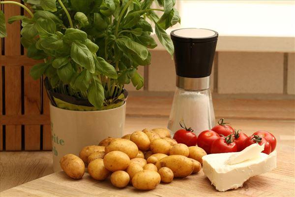 Feta kartoffelsalat
