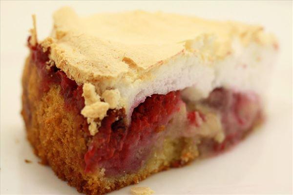 Hindbær-Drømmekage