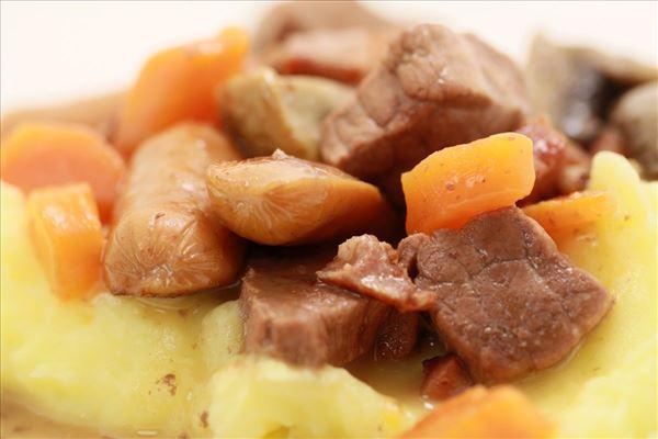 Vildtgryde med kartofelmos