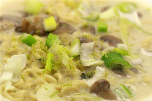 Thai nudel suppe