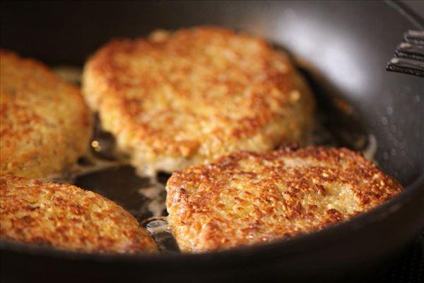 Vegetariske burgerbøffer
