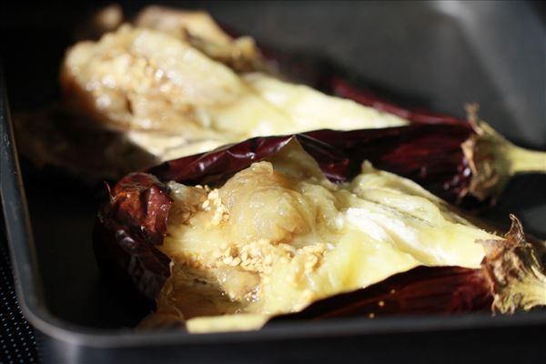 Baba ganoush (egyptisk aubergine forret)