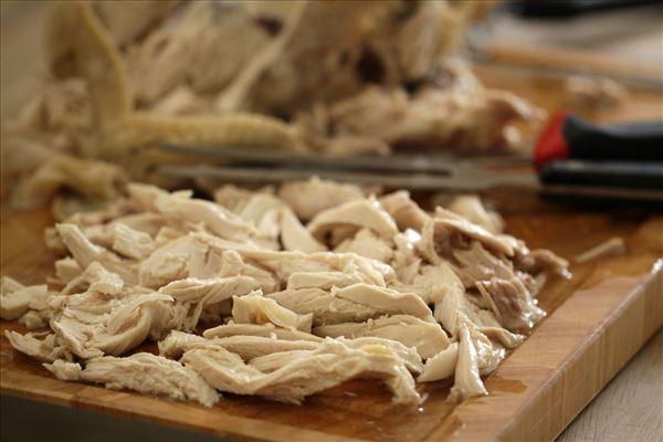 Arabisk sommersuppe med kyllingebryst