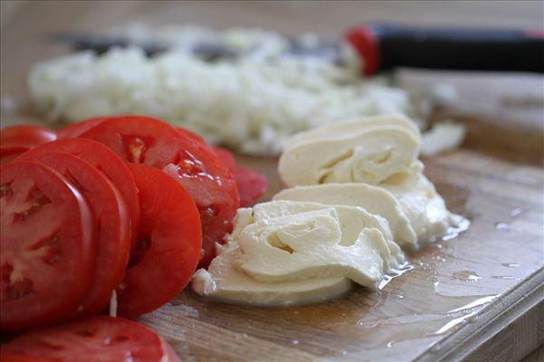 Æg/tomat gratin