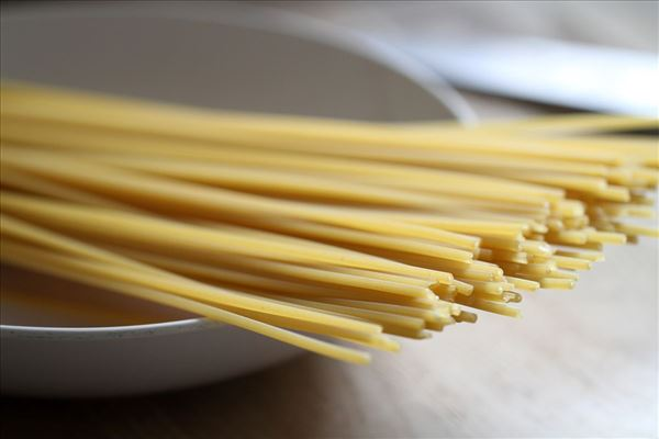 Spaghetti Carbonara med hvidløg