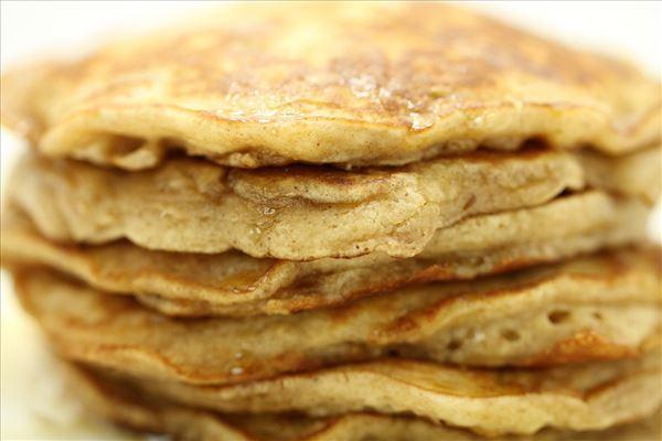 Amerikanske pandekager med æble