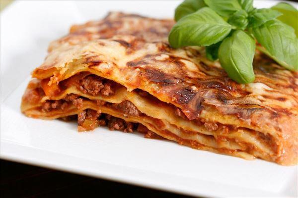 Traditionel lasagne