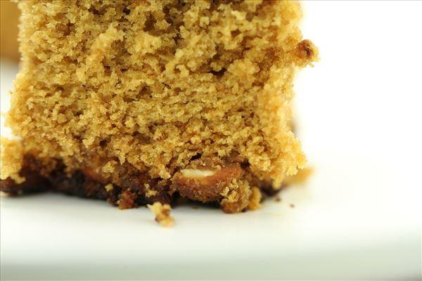 Honningkage med mandler