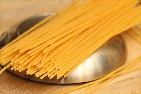 Spaghetti med rejer