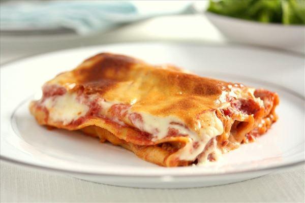 Cannelloni med oksekød