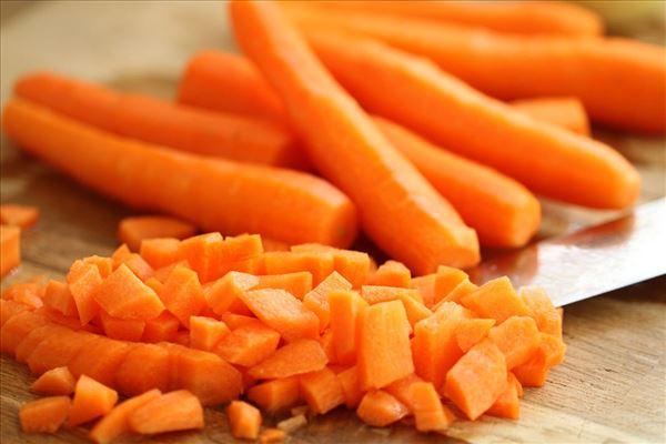 Gulerods - chilisuppe med ingefær