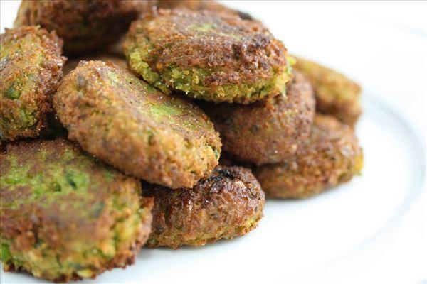 Falafel af grønne ærter