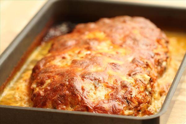 Farsbrød med gorgonzola
