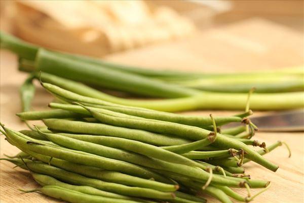 Pasta med torsk og grønne bønner