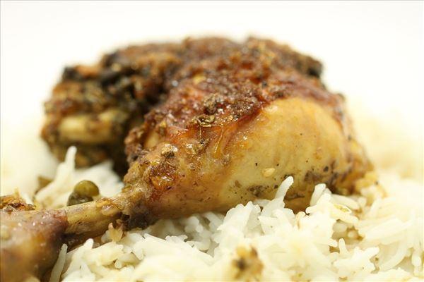 Kylling Marbella med ris