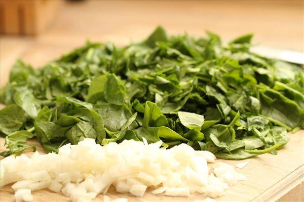 Cannelloni med hakket kød og spinat
