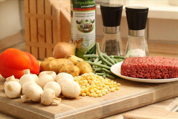 Oksekødsgryde med kartofler