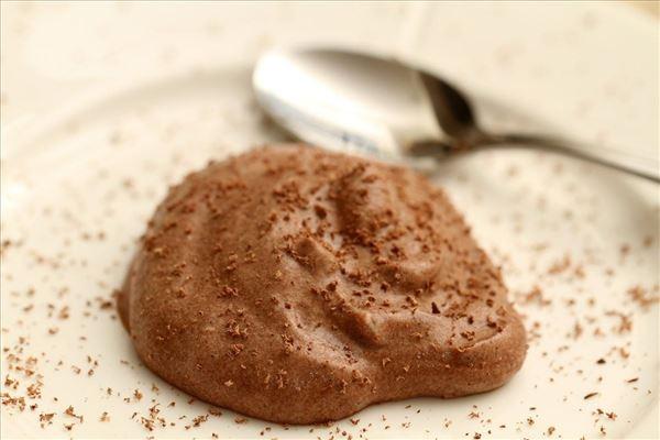 Chokolademousse på fløde