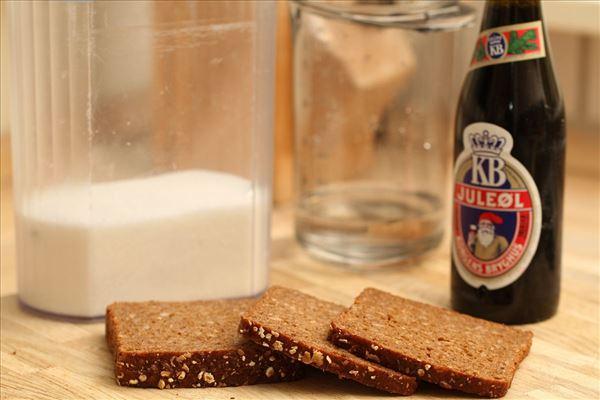 Øllebrød med hvidtøl