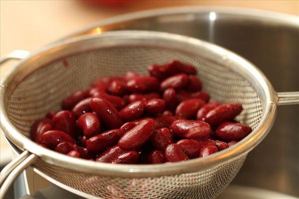 Chiligryde med bønner og oksekød