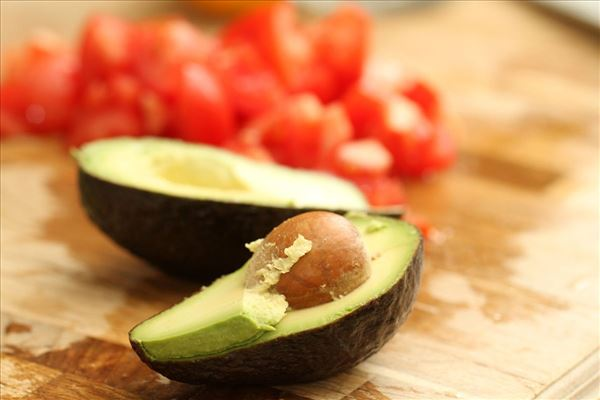 Avocado-tomatsalat