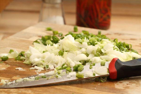 DDV Krydret grøntsagsæggekage
