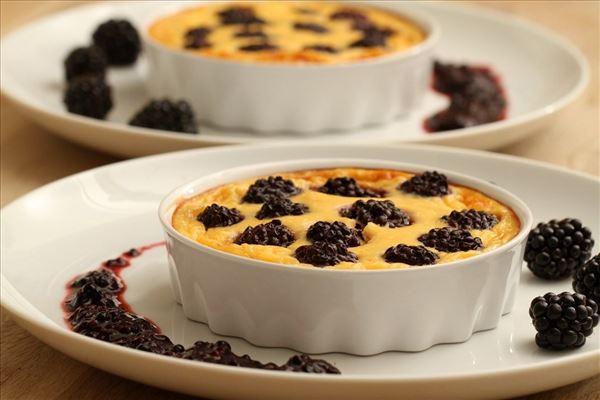Brombærcheesecake - fedtfattig