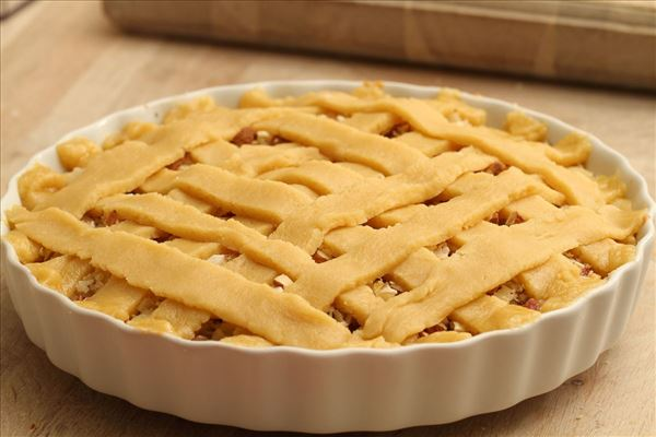 Hjemmelavet rabarbertærte - verdens bedste