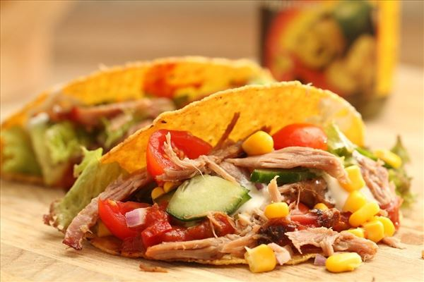 Pulled pork - mexican style (tacoskal)
