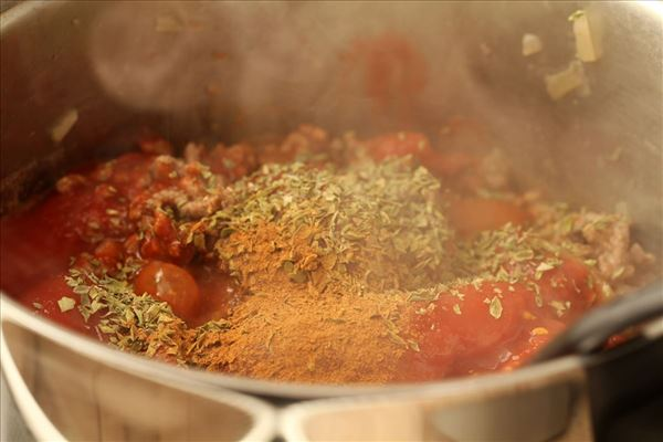 Mousaka med kartofler - uden aubergine