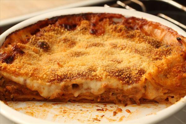 Lasagne italienne med bechamelsauce