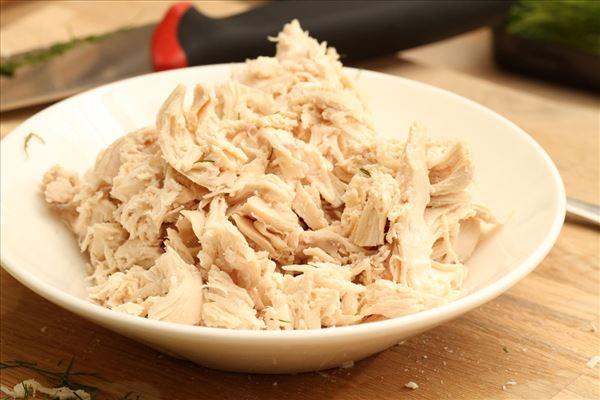 Tarteletter med høns i asparges, kalorielet