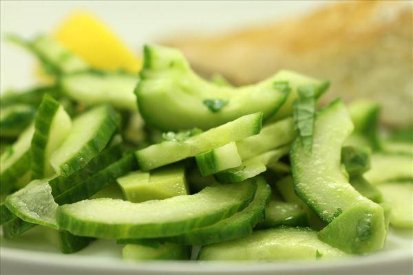 Citronkylling med avokadosalat