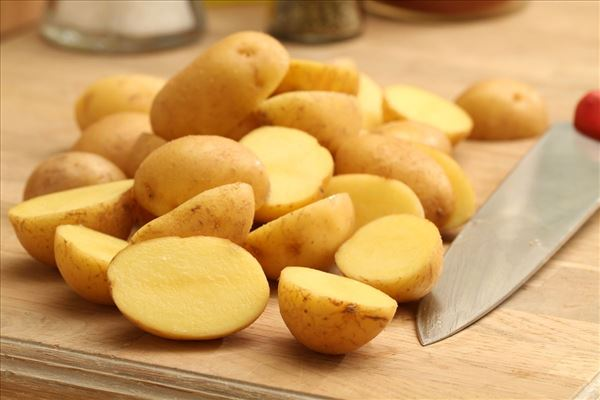 Ovnkartofler med krydderier