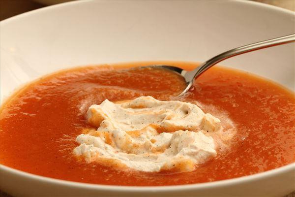 Kold gulerodssuppe (dessert)