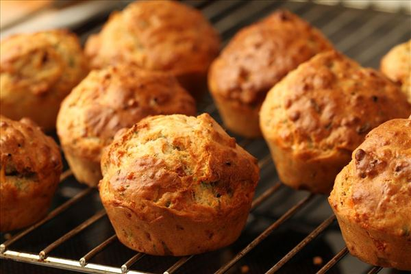 Baconmuffins med ost
